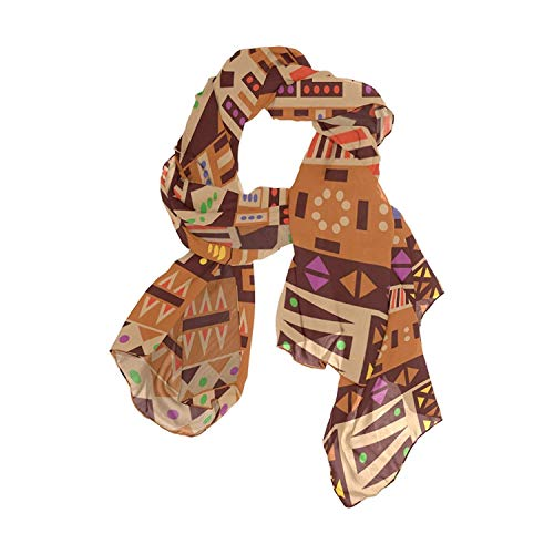 Africa Pattern Women Fashion Light Weight Print Scarves Scarf Gorgeous Shawl Wrap-Various Colors by Pingshoes
