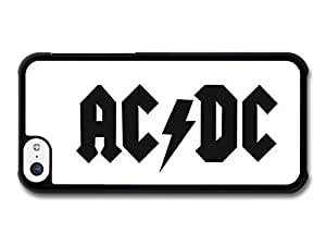 diy phone caseAMAF ? Accessories ACDC Black and White Simple Logo case for ipod touch 5diy phone case