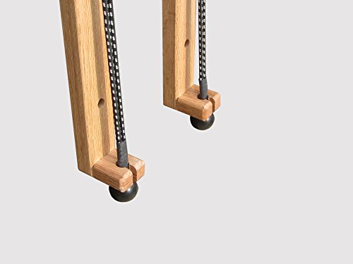 KR Ideas Horizontal Snowboard Wall Mount, Oak (Made in the USA)