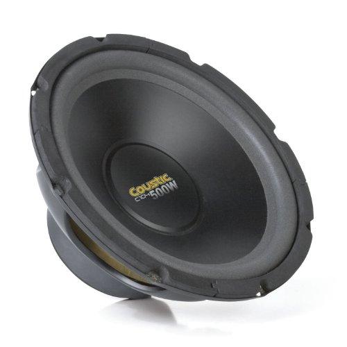 MTX Audio C104 Coustic Car Subwoofer (Subwoofer Car Mtx 15 Inch)