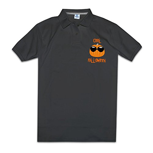 Cool Halloween Mens Polo Style M -