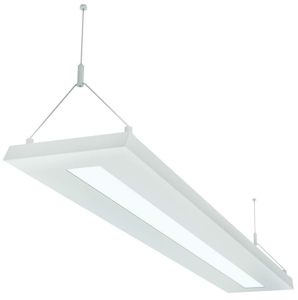 LED Pendelleuchte 64 Watt, 4000K, 6000lm, Büroleuchte, Arbeitsplatzleuchte, Schreibtischleuchte, Hängeleuchte, Designleuchte