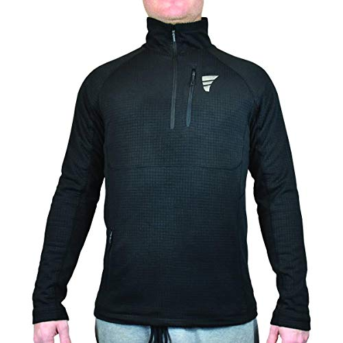 Heated Base Layer Shirt, 3 Heat settings, Battery Powered, Micro-Fleece