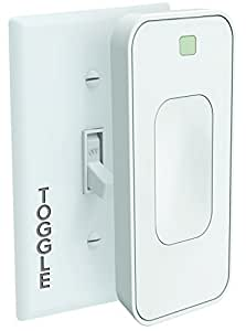 Switchmate Motion Activated Snap-On Instant Smart Light Switch That Listens TSM003WAMZ Toggle