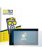 BROTECT 2x Antireflecterende Beschermfolie compatibel met Garmin Camper 660 LMT-D Anti-Glare Screen Protector, Mat, Ontspiegelend