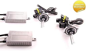 DDM Tuning Plus 35W Premium HID kit Slim AC Ballasts w//Hi-Output Bulbs H11 6500K