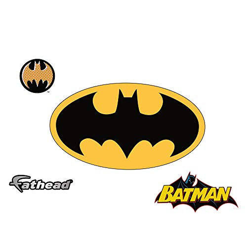 FATHEAD Batman Logo Jr. Graphic Wall Décor