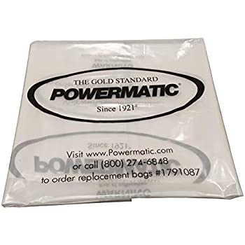 PM1900 5 PM1300TX Plastic Dust Collector Lower Bags for Powermatic PM1300