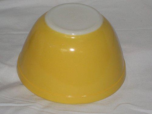 Vintage Pyrex YELLOW Small 1 1/2 Pint Mixing Nest Batter Bowl #401 (Corelle Round Casserole)