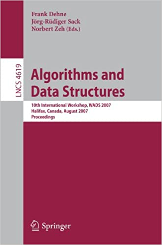 Paras myyjä eBook verkossa Algorithms and Data Structures: 10th International Workshop, WADS 2007, Halifax, Canada, August 15-17, 2007, Proceedings (Lecture Notes in Computer ... Computer Science and General Issues) PDF ePub MOBI