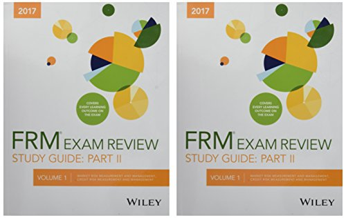 Wiley Study Guide for 2017 Part II FRM Exam, Complete Set