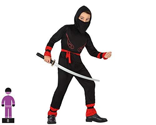 Atosa-70283 Disfraz Ninja, color rojo, 7 a 9 años (70283 ...