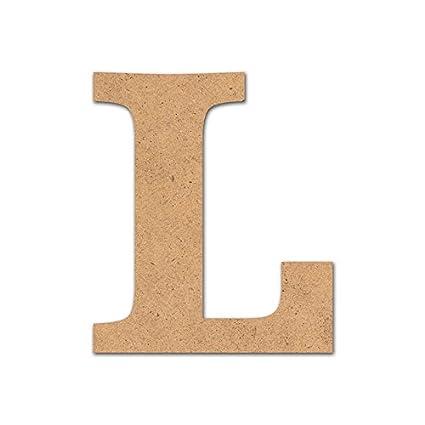 Letra madera manualidades 7cm O Detalles Infantiles