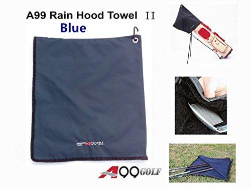 A99 Golf Rain Hood Towel Waterproof Golf Bag Cover Blue New