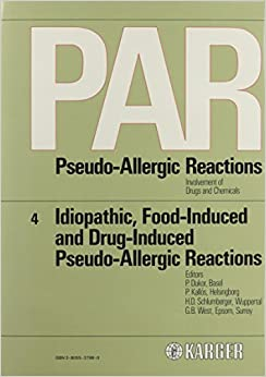 Idiopathic, Food-induced And Drug-induced Pseudo-allergic Reactions: 004 por P. Dukor Gratis