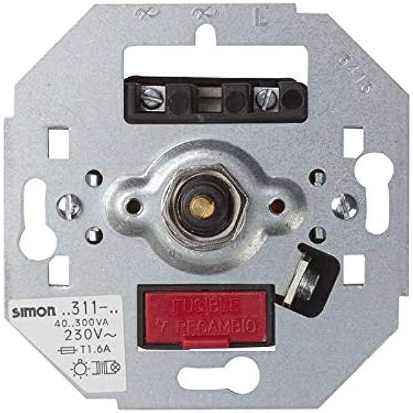 Simon 75311-39 - Regulador luz 75311-39: Amazon.es: Bricolaje y herramientas