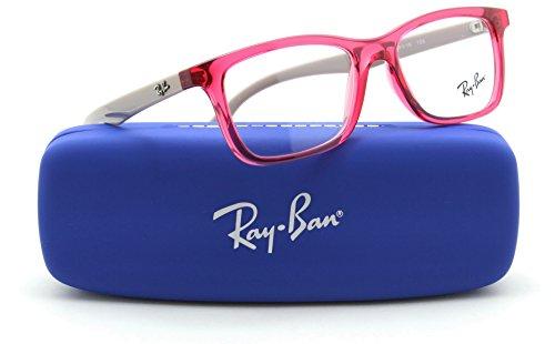 Ray-Ban RY1562 3747 Rectangle JUNIOR Prescription Eyeglasses RX - able, - Ray Eyeglasses For Ban Girls