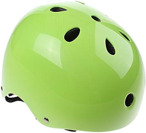 XCool Casco Protección Bicicleta (Verde, 48 – 54): Amazon.es: Deportes y aire libre