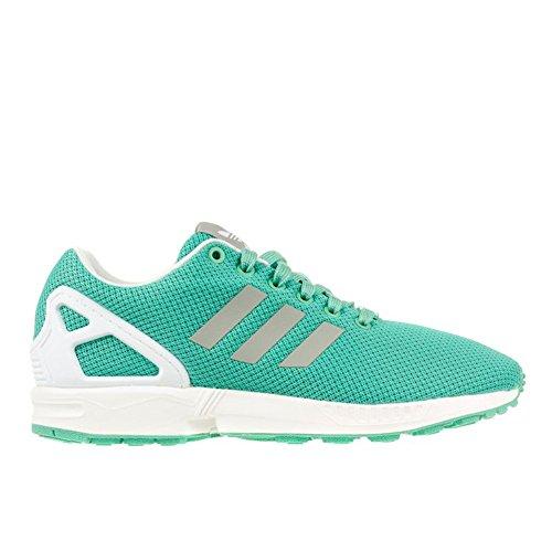 Adidas - ZX Flux W - Couleur: Blanc-Turquoise - Pointure: 40.0