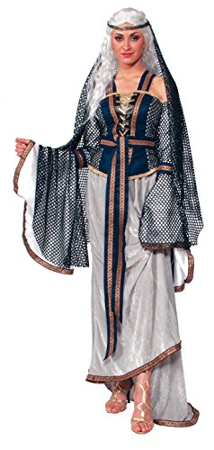 Forum Novelties Women's Lady Of The Lake Costume, Multi Colored, One (Camelot Costume)
