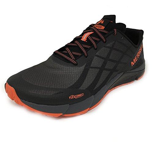 Merrell Bare Access Flex, Zapatillas de Running para Hombre Negro (Black)