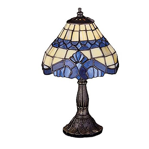 Meyda Tiffany 26586 Baroque Mini Lamp, 11.5
