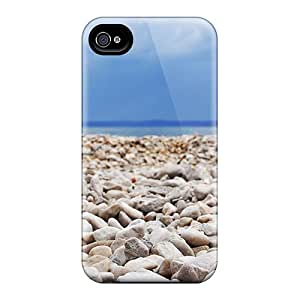 Ideal JackieAchar Case Cover For Iphone 4/4s(stone Beach1), Protective Stylish Case