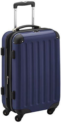 HAUPTSTADTKOFFER - Alex - Hard-side Hand Luggage Darkblue Glossy, 55 cm, 42 liter
