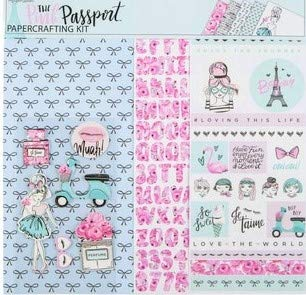 Decor Page Kit - The Pink Passport Scrapbooking Page Kit, papercrafting, Cards, Memory Albums, Decor, Planners, journals