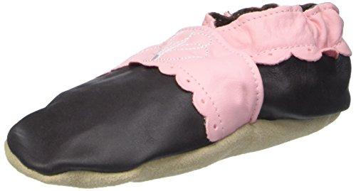 Jack & Lily Originals Saddle Scallop - Zapatillas de piel super divertidas y coloreadas, multicolor