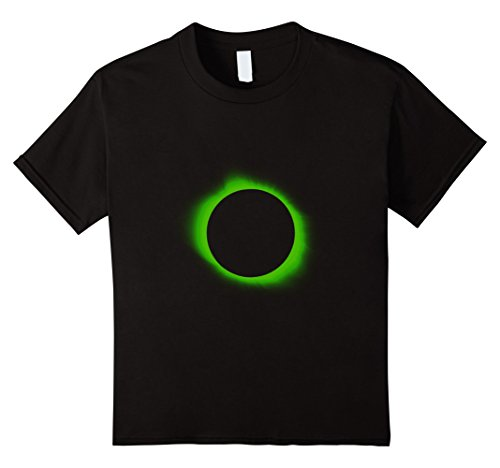 Space Needle Costume (Kids Solar Eclipse Halloween Costume | Solar Eclipse Wear Shirt 10 Black)