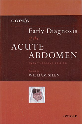 Cope's Early Diagnosis of the Acute Abdomen - http://medicalbooks.filipinodoctors.org
