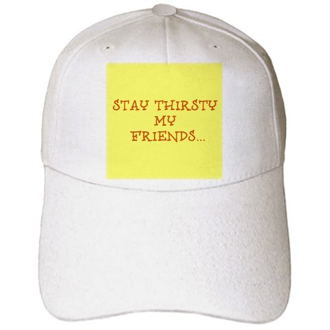 Amazoncom Xander Funny Quotes Stay Thirsty My Friends Brown