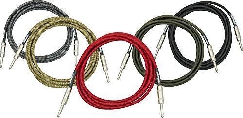 DiMarzio Instrument Cable Vintage Tweed 6 ft.
