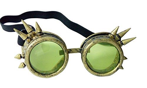 Welding Punk Glasses Cosplay (Bronze) - 7