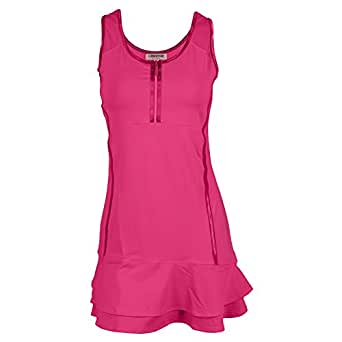Amazon.com: Chrissie by Tail Connie Tennis Dress Neon Pink ...