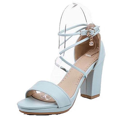 Tsmlh006514 medio sandali medio Nero tacco Sandalo con con tacco Aalardom Women qXI4ZwzZ
