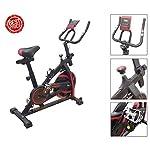 Fusaro-Moto-Bici-da-Spinning-Fly-Spin-6-con-volano-da-6-kg-Bicicletta-per-Allenamento-Dimagrante-Forza-Resistenza-Spinbike-con-Cardio-per-lhome-Fitness