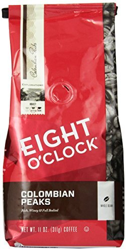 eight-oclock-colombian-peaks-whole-bean-coffee-11-ounce-bags-pack-of-6-by-eight-oclock-coffee