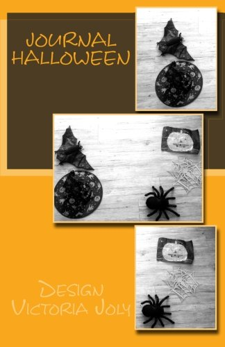 Journal Halloween: Design Original 4 (French -