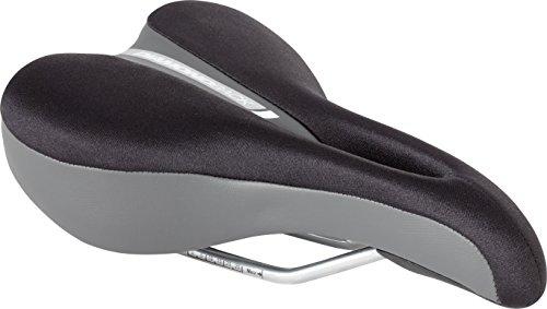 Diamondback Women's Hybrid Lycra Top Bicycle Saddle, Black