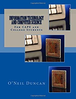 Information technology and computer science for cape examinations information technology and computer science for cape and college students fandeluxe Choice Image