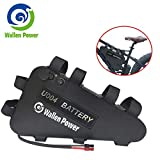Wallen Power 48V 52V 20AH Electric Bicycle Battery, Ebike Battery Triangle, Lithium ion Bike Battery with USB and Charger for 1800W 1500W 1000W 750W500W Bike Motor Mountain Bicycle