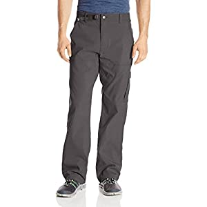 "prAna Men's Stretch Zion 30"" Inseam Pants, Charcoal, Size 32"