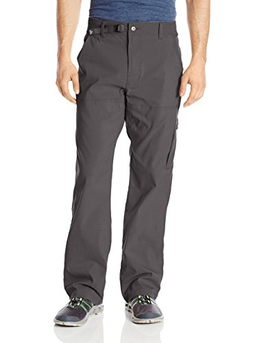prAna Men's Stretch Zion 30' Inseam Pants, Charcoal, Size 32