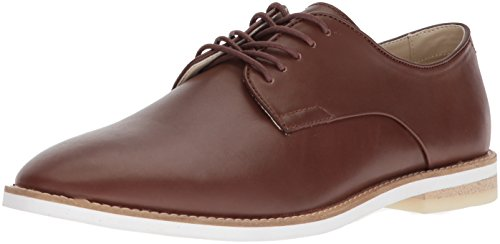 Calvin Klein Men's AGGUSSIE Oxford, tan, 9.5 Medium US