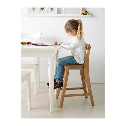 Ikea INGOLF - Silla Junior, Mancha antigüedades: Amazon.es ...