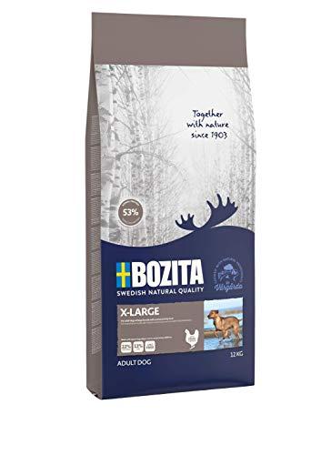 BOZITA X-Large Hundefutter – 12 kg – nachhaltig produziertes Trockenfutter für erwachsene Hunde großer Rassen…