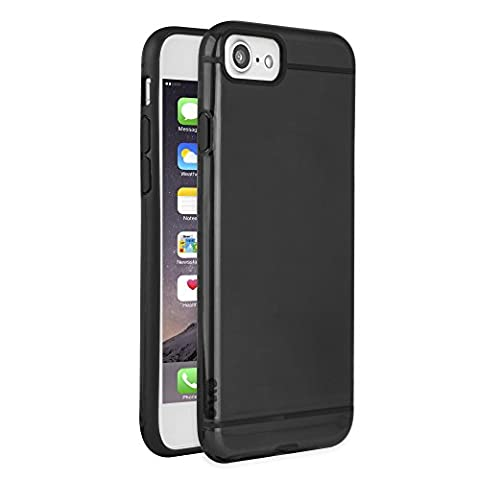 CYLO Tough-Lux Sheer iPhone 7 Case with Enhanced Ultra-Slim Design (Black) (Fire Phone Screen Protector Moshi)