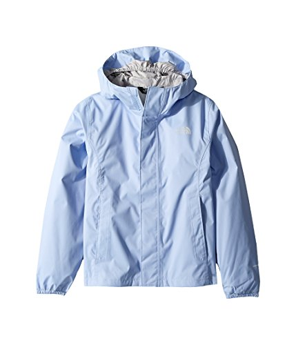 The North Face Girls Resolve Reflective Jacket - Collar Blue - S (Girl Face)